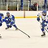 Hamilton College forward Jon Stickel (27)<br /> <br /> 1/4/19 8:13:25 PM Men's Hockey:  Colby College v Hamilton College at Russell Sage Rink, Hamilton College, Clinton, NY<br /> <br /> Final:  Colby 2   Hamilton 4<br /> <br /> Photo by Josh McKee