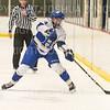 Hamilton College defender Blayne Oliver (24)<br /> <br /> 1/4/19 7:29:23 PM Men's Hockey:  Colby College v Hamilton College at Russell Sage Rink, Hamilton College, Clinton, NY<br /> <br /> Final:  Colby 2   Hamilton 4<br /> <br /> Photo by Josh McKee