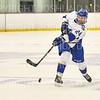 Hamilton College defender Blayne Oliver (24)<br /> <br /> 1/4/19 8:08:39 PM Men's Hockey:  Colby College v Hamilton College at Russell Sage Rink, Hamilton College, Clinton, NY<br /> <br /> Final:  Colby 2   Hamilton 4<br /> <br /> Photo by Josh McKee