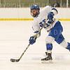 Hamilton College defender Nick Rutigliano (13)<br /> <br /> 1/4/19 7:09:26 PM Men's Hockey:  Colby College v Hamilton College at Russell Sage Rink, Hamilton College, Clinton, NY<br /> <br /> Final:  Colby 2   Hamilton 4<br /> <br /> Photo by Josh McKee