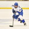 Hamilton College forward Justin Felhaber (25)<br /> <br /> 1/4/19 8:53:57 PM Men's Hockey:  Colby College v Hamilton College at Russell Sage Rink, Hamilton College, Clinton, NY<br /> <br /> Final:  Colby 2   Hamilton 4<br /> <br /> Photo by Josh McKee
