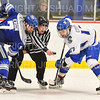 Hamilton College forward Andrew Court (17)<br /> <br /> 1/4/19 9:01:17 PM Men's Hockey:  Colby College v Hamilton College at Russell Sage Rink, Hamilton College, Clinton, NY<br /> <br /> Final:  Colby 2   Hamilton 4<br /> <br /> Photo by Josh McKee