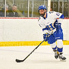 Hamilton College defender Nick Rutigliano (13)<br /> <br /> 1/4/19 7:56:46 PM Men's Hockey:  Colby College v Hamilton College at Russell Sage Rink, Hamilton College, Clinton, NY<br /> <br /> Final:  Colby 2   Hamilton 4<br /> <br /> Photo by Josh McKee