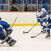 Hamilton College forward Ian Nichols (23)<br /> <br /> 1/4/19 7:29:21 PM Men's Hockey:  Colby College v Hamilton College at Russell Sage Rink, Hamilton College, Clinton, NY<br /> <br /> Final:  Colby 2   Hamilton 4<br /> <br /> Photo by Josh McKee