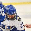 Hamilton College forward Justin Felhaber (25)<br /> <br /> 1/4/19 7:50:58 PM Men's Hockey:  Colby College v Hamilton College at Russell Sage Rink, Hamilton College, Clinton, NY<br /> <br /> Final:  Colby 2   Hamilton 4<br /> <br /> Photo by Josh McKee