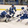 Hamilton College forward Jon Beniers (16)<br /> <br /> 1/4/19 7:20:52 PM Men's Hockey:  Colby College v Hamilton College at Russell Sage Rink, Hamilton College, Clinton, NY<br /> <br /> Final:  Colby 2   Hamilton 4<br /> <br /> Photo by Josh McKee