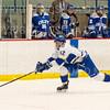 Hamilton College forward Nick Ursitti (12)<br /> <br /> 1/4/19 7:13:42 PM Men's Hockey:  Colby College v Hamilton College at Russell Sage Rink, Hamilton College, Clinton, NY<br /> <br /> Final:  Colby 2   Hamilton 4<br /> <br /> Photo by Josh McKee