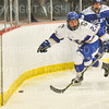 Hamilton College forward Chad Varney (22)<br /> <br /> 1/4/19 7:50:11 PM Men's Hockey:  Colby College v Hamilton College at Russell Sage Rink, Hamilton College, Clinton, NY<br /> <br /> Final:  Colby 2   Hamilton 4<br /> <br /> Photo by Josh McKee