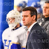 Hamilton College Assistant Coach Bennett Hambrook<br /> <br /> 1/4/19 8:02:01 PM Men's Hockey:  Colby College v Hamilton College at Russell Sage Rink, Hamilton College, Clinton, NY<br /> <br /> Final:  Colby 2   Hamilton 4<br /> <br /> Photo by Josh McKee