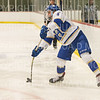 Hamilton College defender Josh Labonte (4)<br /> <br /> 1/4/19 7:08:15 PM Men's Hockey:  Colby College v Hamilton College at Russell Sage Rink, Hamilton College, Clinton, NY<br /> <br /> Final:  Colby 2   Hamilton 4<br /> <br /> Photo by Josh McKee