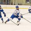Hamilton College defender Nick Rutigliano (13)<br /> <br /> 1/4/19 7:16:17 PM Men's Hockey:  Colby College v Hamilton College at Russell Sage Rink, Hamilton College, Clinton, NY<br /> <br /> Final:  Colby 2   Hamilton 4<br /> <br /> Photo by Josh McKee