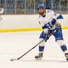 Hamilton College defender Bennett Morrison (14)<br /> <br /> 1/4/19 7:23:38 PM Men's Hockey:  Colby College v Hamilton College at Russell Sage Rink, Hamilton College, Clinton, NY<br /> <br /> Final:  Colby 2   Hamilton 4<br /> <br /> Photo by Josh McKee