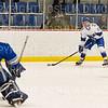 Hamilton College forward Jason Brochu (15)<br /> <br /> 1/4/19 7:09:58 PM Men's Hockey:  Colby College v Hamilton College at Russell Sage Rink, Hamilton College, Clinton, NY<br /> <br /> Final:  Colby 2   Hamilton 4<br /> <br /> Photo by Josh McKee