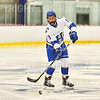 Hamilton College defender Nick Rutigliano (13)<br /> <br /> 1/4/19 7:47:54 PM Men's Hockey:  Colby College v Hamilton College at Russell Sage Rink, Hamilton College, Clinton, NY<br /> <br /> Final:  Colby 2   Hamilton 4<br /> <br /> Photo by Josh McKee