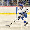Hamilton College forward Nick Ursitti (12)<br /> <br /> 1/4/19 7:48:00 PM Men's Hockey:  Colby College v Hamilton College at Russell Sage Rink, Hamilton College, Clinton, NY<br /> <br /> Final:  Colby 2   Hamilton 4<br /> <br /> Photo by Josh McKee