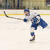 Hamilton College defender Josh Labonte (4)<br /> <br /> 1/4/19 7:23:18 PM Men's Hockey:  Colby College v Hamilton College at Russell Sage Rink, Hamilton College, Clinton, NY<br /> <br /> Final:  Colby 2   Hamilton 4<br /> <br /> Photo by Josh McKee