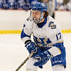 Hamilton College forward Andrew Court (17)<br /> <br /> 1/4/19 7:08:58 PM Men's Hockey:  Colby College v Hamilton College at Russell Sage Rink, Hamilton College, Clinton, NY<br /> <br /> Final:  Colby 2   Hamilton 4<br /> <br /> Photo by Josh McKee