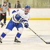 Hamilton College defender Blayne Oliver (24)<br /> <br /> 1/4/19 8:48:47 PM Men's Hockey:  Colby College v Hamilton College at Russell Sage Rink, Hamilton College, Clinton, NY<br /> <br /> Final:  Colby 2   Hamilton 4<br /> <br /> Photo by Josh McKee