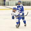 Hamilton College forward Joey Moore (20)<br /> <br /> 1/4/19 7:59:33 PM Men's Hockey:  Colby College v Hamilton College at Russell Sage Rink, Hamilton College, Clinton, NY<br /> <br /> Final:  Colby 2   Hamilton 4<br /> <br /> Photo by Josh McKee
