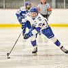 Hamilton College forward Rory Gagnon (10)<br /> <br /> 1/4/19 7:47:30 PM Men's Hockey:  Colby College v Hamilton College at Russell Sage Rink, Hamilton College, Clinton, NY<br /> <br /> Final:  Colby 2   Hamilton 4<br /> <br /> Photo by Josh McKee