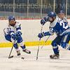 Hamilton College forward Ian Nichols (23)<br /> <br /> 1/4/19 7:03:46 PM Men's Hockey:  Colby College v Hamilton College at Russell Sage Rink, Hamilton College, Clinton, NY<br /> <br /> Final:  Colby 2   Hamilton 4<br /> <br /> Photo by Josh McKee