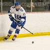 Hamilton College forward Andrew Court (17)<br /> <br /> 1/4/19 7:11:43 PM Men's Hockey:  Colby College v Hamilton College at Russell Sage Rink, Hamilton College, Clinton, NY<br /> <br /> Final:  Colby 2   Hamilton 4<br /> <br /> Photo by Josh McKee