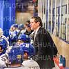 Hamilton College head coach Rob Haberbusch<br /> <br /> 1/4/19 8:06:24 PM Men's Hockey:  Colby College v Hamilton College at Russell Sage Rink, Hamilton College, Clinton, NY<br /> <br /> Final:  Colby 2   Hamilton 4<br /> <br /> Photo by Josh McKee