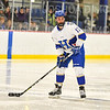 Hamilton College defender Nick Rutigliano (13)<br /> <br /> 1/4/19 7:47:45 PM Men's Hockey:  Colby College v Hamilton College at Russell Sage Rink, Hamilton College, Clinton, NY<br /> <br /> Final:  Colby 2   Hamilton 4<br /> <br /> Photo by Josh McKee