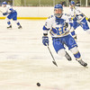 Hamilton College forward Jon Beniers (16)<br /> <br /> 1/25/19 7:06:33 PM Men's Hockey:  #7 Trinity College v Hamilton College at Russell Sage Rink, Hamilton College, Clinton, NY<br /> <br /> Final:  Trinity 3   Hamilton 3<br /> <br /> Photo by Josh McKee