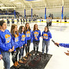 Anthem Singers<br /> <br /> 1/25/19 7:01:18 PM Men's Hockey:  #7 Trinity College v Hamilton College at Russell Sage Rink, Hamilton College, Clinton, NY<br /> <br /> Final:  Trinity 3   Hamilton 3<br /> <br /> Photo by Josh McKee