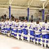 Team<br /> <br /> 1/25/19 7:00:23 PM Men's Hockey:  #7 Trinity College v Hamilton College at Russell Sage Rink, Hamilton College, Clinton, NY<br /> <br /> Final:  Trinity 3   Hamilton 3<br /> <br /> Photo by Josh McKee