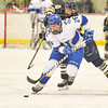 Hamilton College forward Sterling Bray (26)<br /> <br /> 1/25/19 7:08:34 PM Men's Hockey:  #7 Trinity College v Hamilton College at Russell Sage Rink, Hamilton College, Clinton, NY<br /> <br /> Final:  Trinity 3   Hamilton 3<br /> <br /> Photo by Josh McKee
