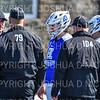 Hamilton College FO Quin Crowley (10), Hamilton College FO Patrick McDermott (50)<br /> <br /> 3/24/19 11:44:56 AM Men's Lacrosse: #2 Amherst College v Hamilton College, at Steuben Field, Hamilton College, Clinton, NY<br /> <br /> Final: Amherst 20  Hamilton 8 <br /> <br /> Photo by Josh McKee