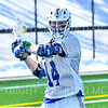 Hamilton College midfielder Zach Larsen (14)<br /> <br /> 3/9/19 12:33:42 PM Men's Lacrosse: Colby College v Hamilton College at Withiam Field, Hamilton College, Clinton, NY<br /> <br /> Final: Colby 9   Hamilton 17<br /> <br /> Photo by Josh McKee