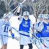 Team<br /> <br /> 3/9/19 12:18:10 PM Men's Lacrosse: Colby College v Hamilton College at Withiam Field, Hamilton College, Clinton, NY<br /> <br /> Final: Colby 9   Hamilton 17<br /> <br /> Photo by Josh McKee
