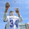 Hamilton College goalkeeper Max Scheidl (34)<br /> <br /> 4/13/19 12:39:28 PM Men's Lacrosse: Connecticut College v Hamilton College at Steuben Field, Hamilton College, Clinton, NY<br /> <br /> Final:  Conn 12   Hamilton 9<br /> <br /> Photo by Josh McKee