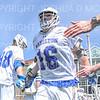 Hamilton College midfielder Christian Hansson (16)<br /> <br /> 4/13/19 1:01:51 PM Men's Lacrosse: Connecticut College v Hamilton College at Steuben Field, Hamilton College, Clinton, NY<br /> <br /> Final:  Conn 12   Hamilton 9<br /> <br /> Photo by Josh McKee