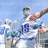 Hamilton College attacker Clay McCollum (18)<br /> <br /> 4/13/19 1:02:01 PM Men's Lacrosse: Connecticut College v Hamilton College at Steuben Field, Hamilton College, Clinton, NY<br /> <br /> Final:  Conn 12   Hamilton 9<br /> <br /> Photo by Josh McKee