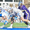 Hamilton College FO Quin Crowley (10)<br /> <br /> 3/20/19 4:19:08 PM Men's Lacrosse: Nazareth College v Hamilton College, at Steuben Field, Hamilton College, Clinton, NY<br /> <br /> Final: Nazareth 12   Hamilton 17<br /> <br /> Photo by Josh McKee