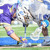 Hamilton College midfielder Alex Choy (19)<br /> <br /> 3/20/19 4:10:27 PM Men's Lacrosse: Nazareth College v Hamilton College, at Steuben Field, Hamilton College, Clinton, NY<br /> <br /> Final: Nazareth 12   Hamilton 17<br /> <br /> Photo by Josh McKee