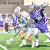 Hamilton College midfielder James Sanderson (13)<br /> <br /> 3/20/19 4:08:46 PM Men's Lacrosse: Nazareth College v Hamilton College, at Steuben Field, Hamilton College, Clinton, NY<br /> <br /> Final: Nazareth 12   Hamilton 17<br /> <br /> Photo by Josh McKee
