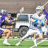 Hamilton College attacker Henry Hunt (2)<br /> <br /> 3/20/19 4:16:06 PM Men's Lacrosse: Nazareth College v Hamilton College, at Steuben Field, Hamilton College, Clinton, NY<br /> <br /> Final: Nazareth 12   Hamilton 17<br /> <br /> Photo by Josh McKee