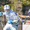 Hamilton College attacker Clay McCollum (18)<br /> <br /> 3/20/19 4:12:22 PM Men's Lacrosse: Nazareth College v Hamilton College, at Steuben Field, Hamilton College, Clinton, NY<br /> <br /> Final: Nazareth 12   Hamilton 17<br /> <br /> Photo by Josh McKee
