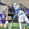 Hamilton College attacker Clay McCollum (18)<br /> <br /> 3/20/19 4:22:00 PM Men's Lacrosse: Nazareth College v Hamilton College, at Steuben Field, Hamilton College, Clinton, NY<br /> <br /> Final: Nazareth 12   Hamilton 17<br /> <br /> Photo by Josh McKee