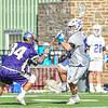 Hamilton College FO Patrick McDermott (50)<br /> <br /> 3/20/19 4:27:00 PM Men's Lacrosse: Nazareth College v Hamilton College, at Steuben Field, Hamilton College, Clinton, NY<br /> <br /> Final: Nazareth 12   Hamilton 17<br /> <br /> Photo by Josh McKee