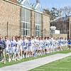 Team<br /> <br /> 3/20/19 4:01:28 PM Men's Lacrosse: Nazareth College v Hamilton College, at Steuben Field, Hamilton College, Clinton, NY<br /> <br /> Final: Nazareth 12   Hamilton 17<br /> <br /> Photo by Josh McKee