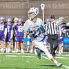Hamilton College midfielder Andrew Cox (23)<br /> <br /> 3/20/19 4:27:35 PM Men's Lacrosse: Nazareth College v Hamilton College, at Steuben Field, Hamilton College, Clinton, NY<br /> <br /> Final: Nazareth 12   Hamilton 17<br /> <br /> Photo by Josh McKee