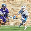 Hamilton College midfielder Alex Choy (19)<br /> <br /> 3/20/19 4:24:41 PM Men's Lacrosse: Nazareth College v Hamilton College, at Steuben Field, Hamilton College, Clinton, NY<br /> <br /> Final: Nazareth 12   Hamilton 17<br /> <br /> Photo by Josh McKee