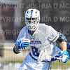 Hamilton College midfielder Brock Bowers (8)<br /> <br /> 3/20/19 4:21:22 PM Men's Lacrosse: Nazareth College v Hamilton College, at Steuben Field, Hamilton College, Clinton, NY<br /> <br /> Final: Nazareth 12   Hamilton 17<br /> <br /> Photo by Josh McKee