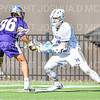 Hamilton College attacker Clay McCollum (18)<br /> <br /> 3/20/19 4:12:16 PM Men's Lacrosse: Nazareth College v Hamilton College, at Steuben Field, Hamilton College, Clinton, NY<br /> <br /> Final: Nazareth 12   Hamilton 17<br /> <br /> Photo by Josh McKee